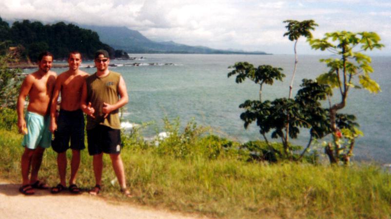 COASTLINE-ON THE ROAD IN COSTA RICA..........