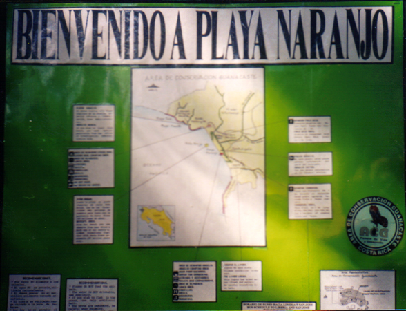 Naranjo Map